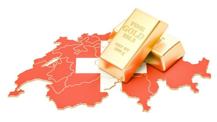 custodia oro suiza