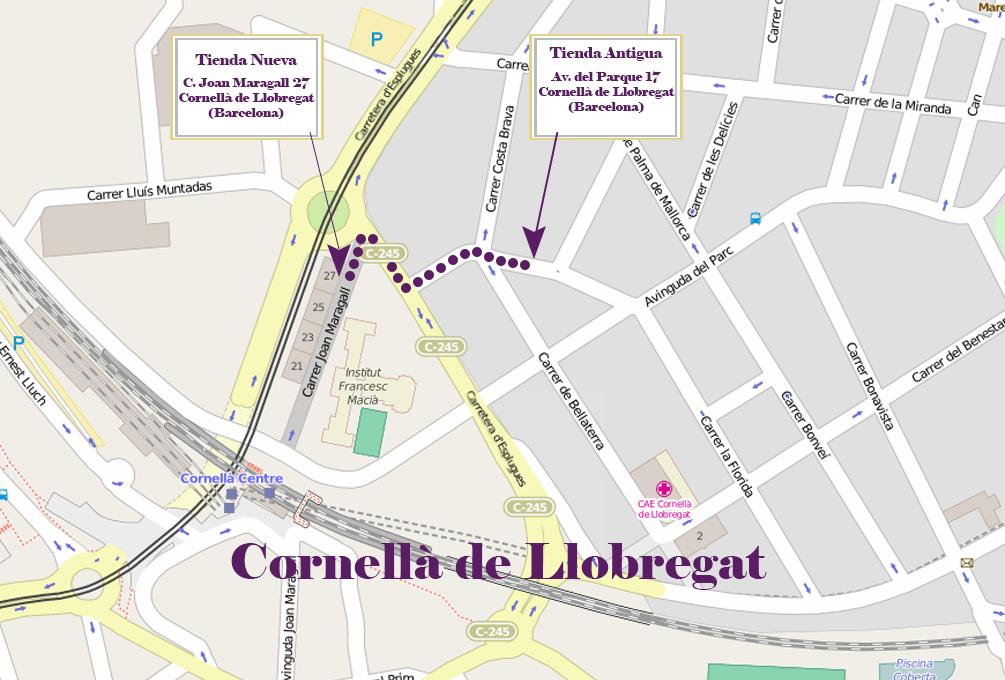 Nueva ubicaci n en cornell de llobregat andorrano joyer a for Correos cornella de llobregat