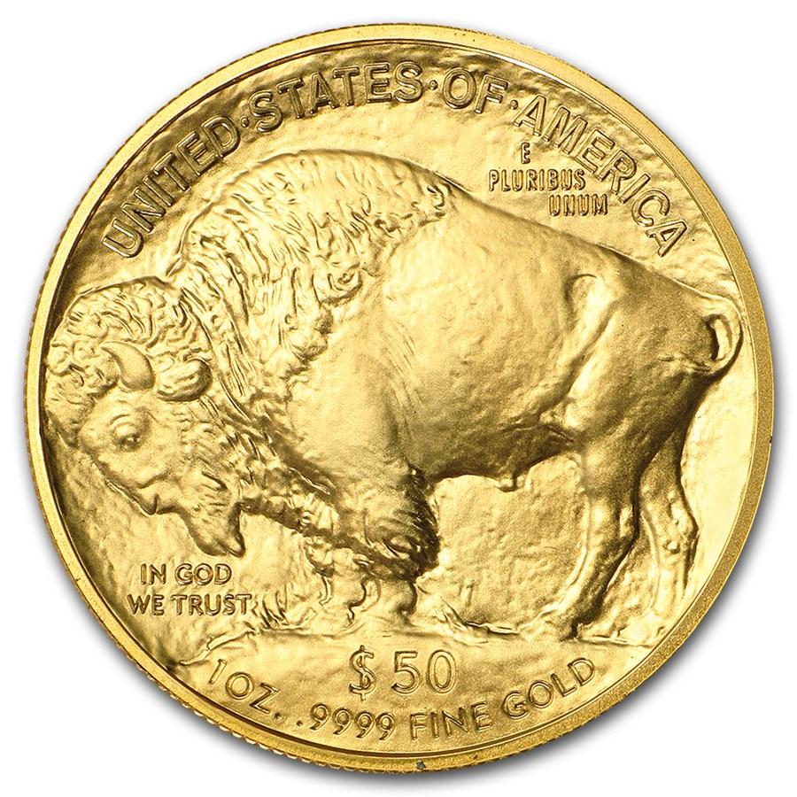 Moneda De Oro B 250 Falo Americano 2018 1 Oz