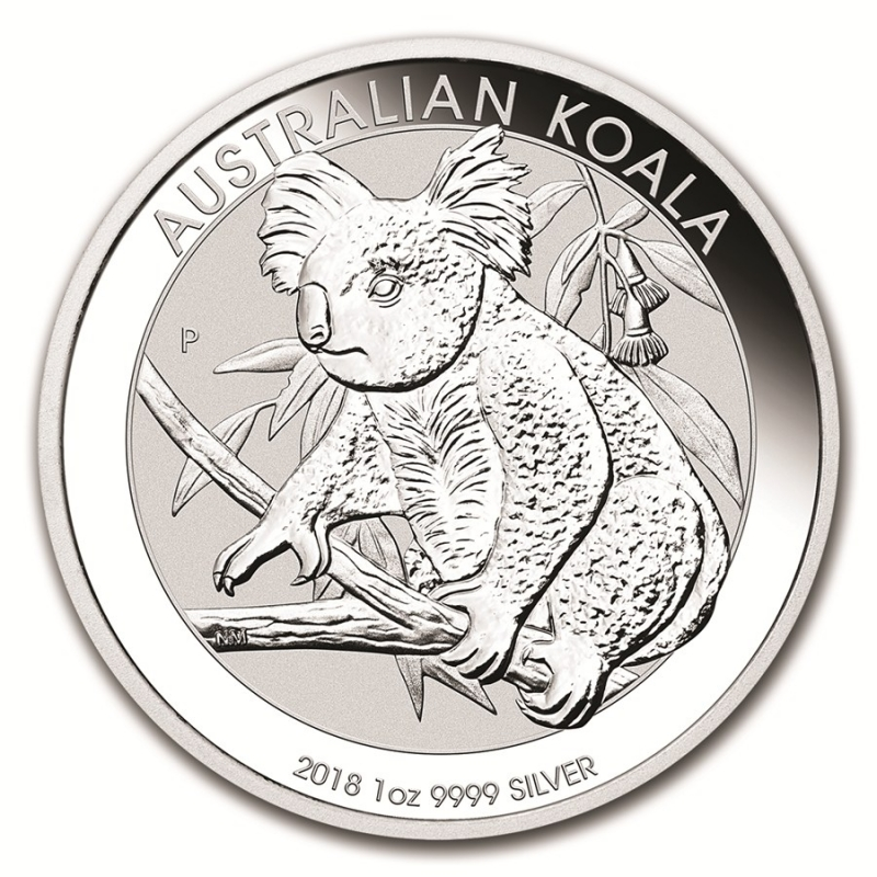 Moneda De Plata Koala 2018 1 Oz Andorrano Joyer 237 A