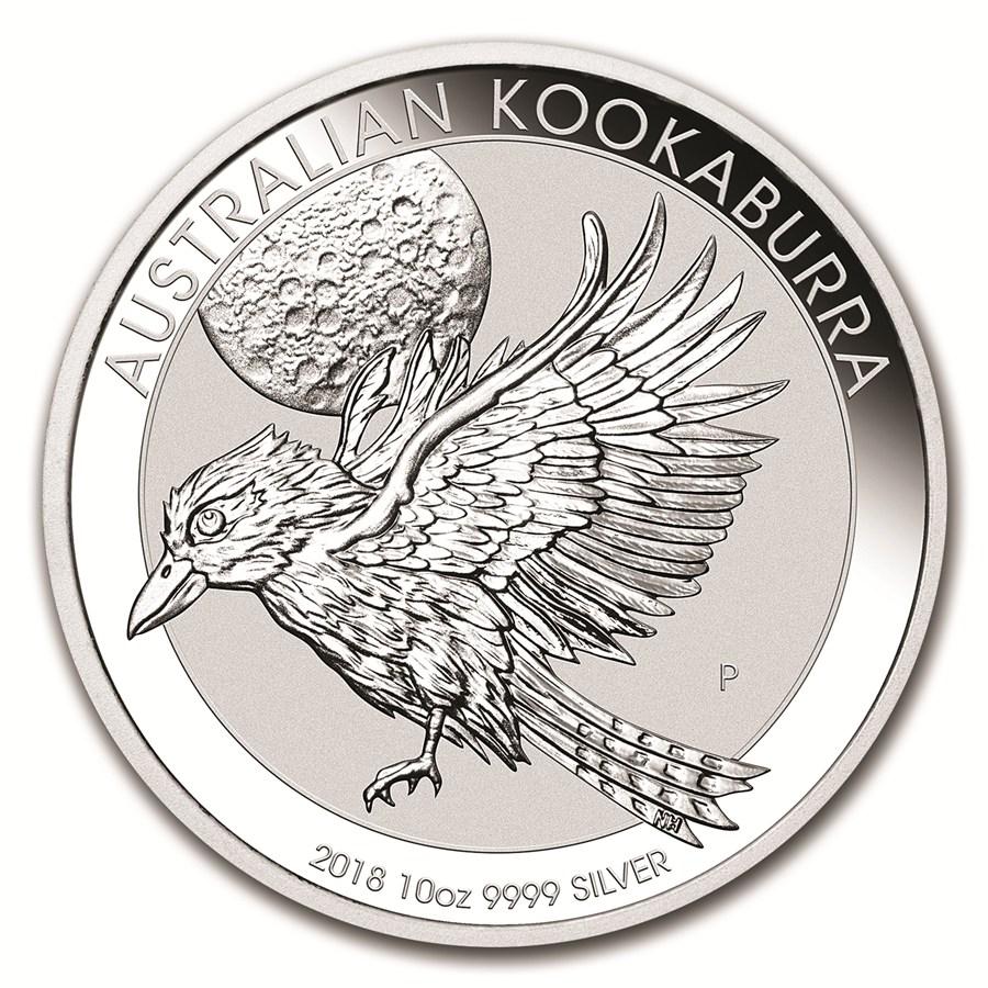 Monedas De Plata Australia Moneda De Plata Kookaburra