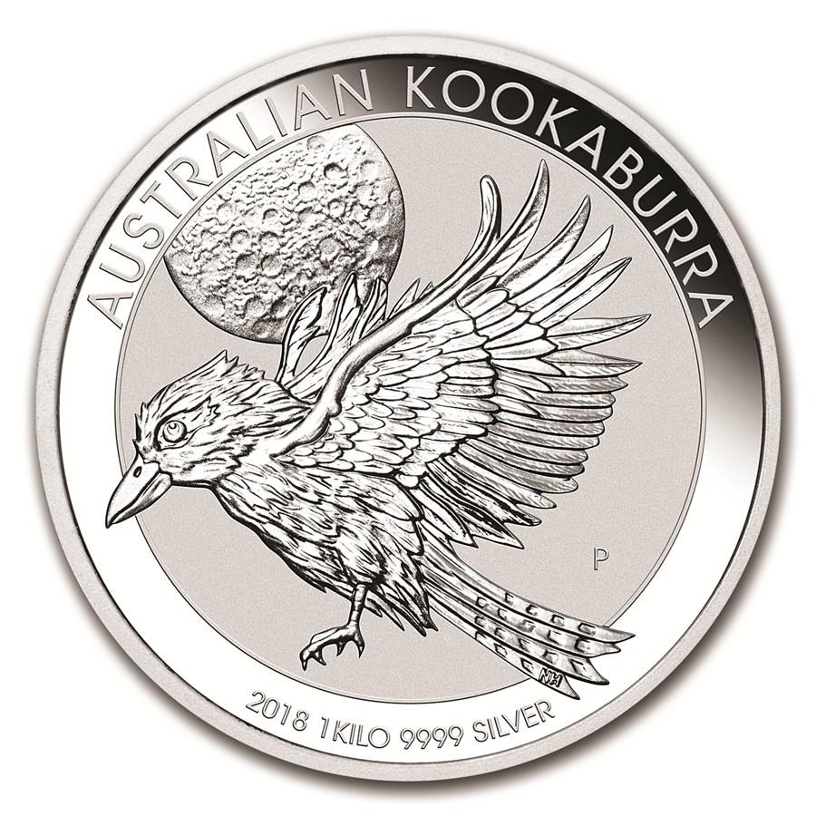 Moneda De Plata Kookaburra 2018 1 Kg