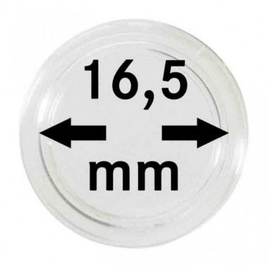 Cápsulas Lindner para monedas de 16,5mm