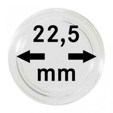 Cápsulas Lindner para monedas de 22,5mm