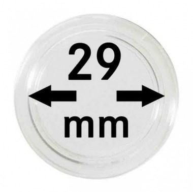 Cápsulas Lindner para monedas de 29mm