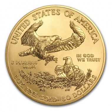 Moneda American Eagle 2016 Oro 1 oz