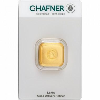 Lingote de Oro C Hafner Casted de 50g