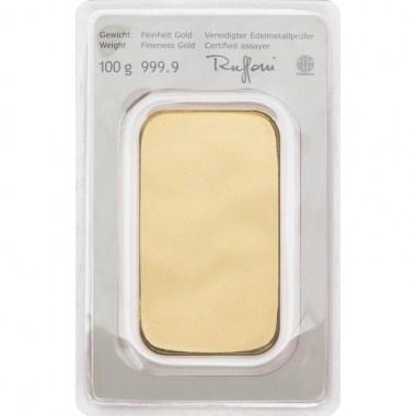 Lingote de Oro Münze Österreich de 100g