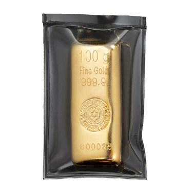 Lingote de Oro SEMPSA de 100g