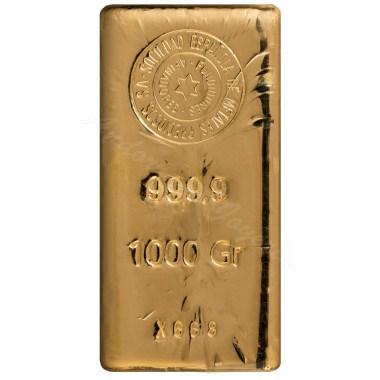Lingote de Oro SEMPSA de 1kg