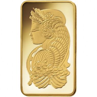 Lingote de Oro PAMP Fortune de 250g