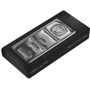 Lingote de Plata Germania Mint de 1kg