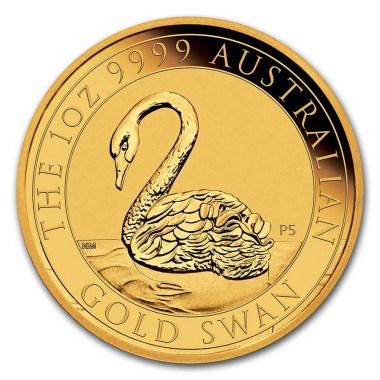 Moneda de Oro Cisne de Australia 2021 1 oz