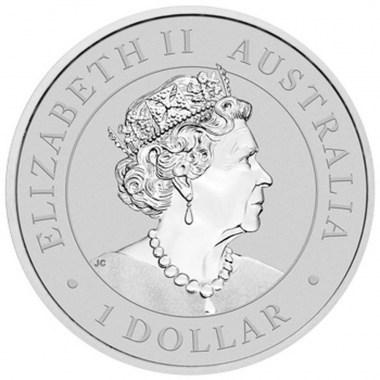 Moneda de Plata Super Pit de Australia 2021 1 oz