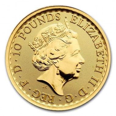 Moneda de Oro Britannia 2021 1/10 oz