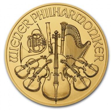 Moneda de Oro Filarmónica 2021 1/10 oz