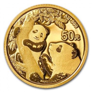 Moneda de Oro Panda 2021 3 g