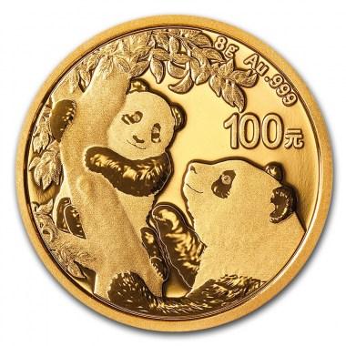 Moneda de Oro Panda 2021 8 g