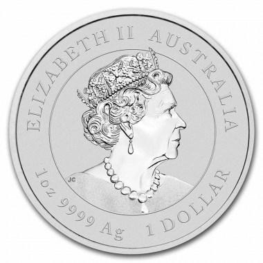 Moneda de Plata Año del Tigre de Australia 2022