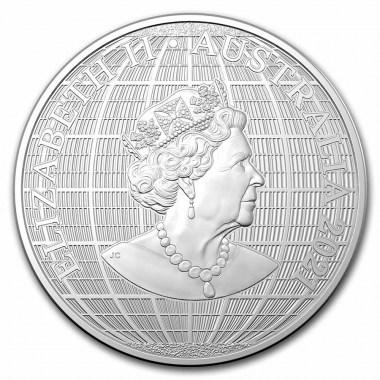 Moneda de Plata Bajo el Cielo del Sur de Australia 2021 1 oz