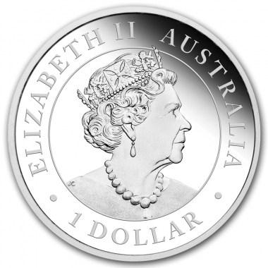 Moneda de Plata Emú de Australia 2019 1 oz