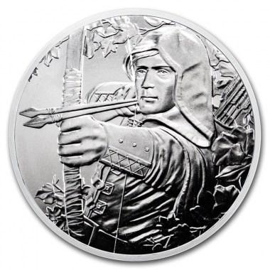 Moneda de Plata 825 Aniversario Robin Hood de Austria 2019 1 oz