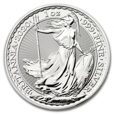 Moneda de Plata Britannia 2020 1 oz