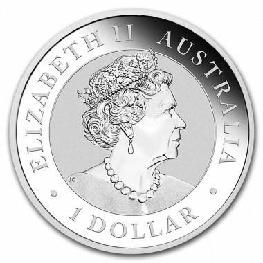 Moneda de Plata Brumby australiano 2021 1 oz
