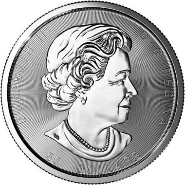 Moneda de Plata Magnificent Maple Leaf 2021 10 oz