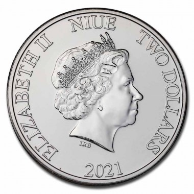 Moneda de Plata El Rey León Hakuna Matata 2021 1 oz