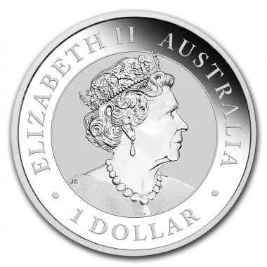 Moneda de Plata Kookaburra 2021 1 oz