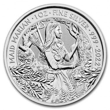 Moneda de Plata Maid Marian 2022 1 oz