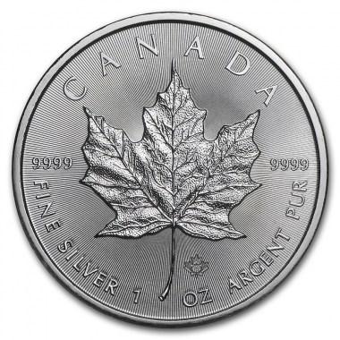 Moneda de Plata Maple Leaf 2021 1 oz