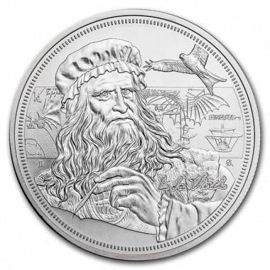Moneda de Plata da Vinci 2021 1 oz
