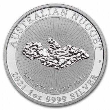 Moneda de Plata Pepita Golden Eagle 2021 1 oz