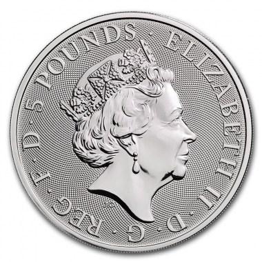 Moneda de Plata Queen's Beasts The White Horse 2020 2 oz