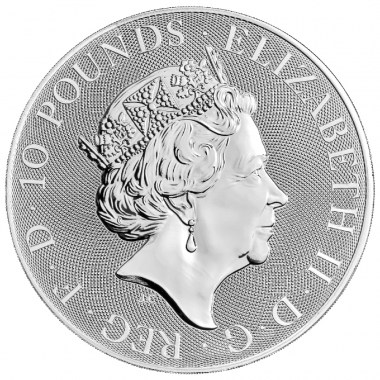 Moneda de Plata Britannia 2021 10 oz