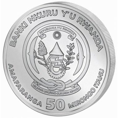 Moneda de Plata Nautical Ounce Sedov de Ruanda 2021 1 oz
