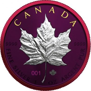 Moneda de Plata Space Metals II Maple Leaf 2021 1 oz