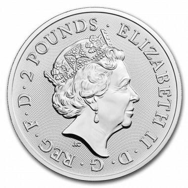 Moneda de Plata The Royal Arms 2021 1 oz