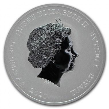 Moneda de Plata Marvel Venom de Tuvalu 2020 1 oz
