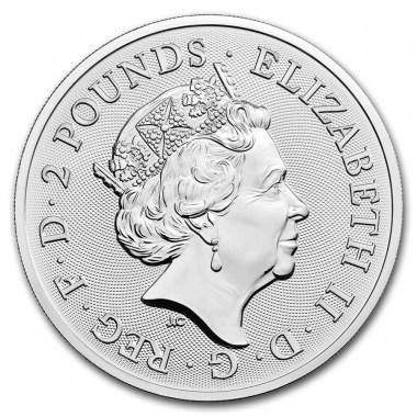 Moneda de Plata Music Legends The Who de Reino Unido 2021 1 oz