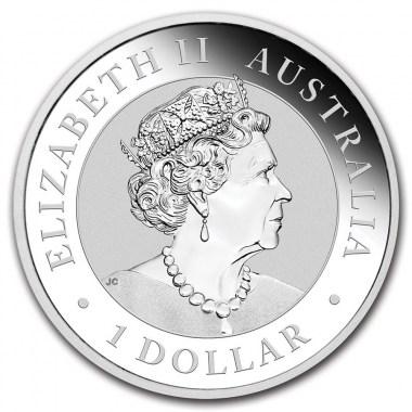 Moneda de Plata Emú de Australia 2020 1 oz
