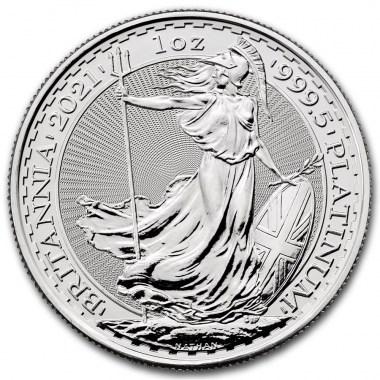 Moneda de Platino Britannia 2021 1 oz