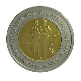 Moneda Andorra 20 Diners Oro y Plata 1998 26,76 g