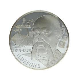 Moneda España 25 Ecus Idelfons Plata 1997 Cataluña 25 g