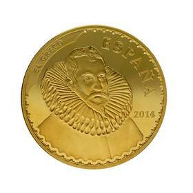 Moneda España 400 Euros El Greco Oro 2014 Madrid 27 g