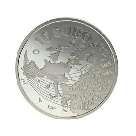 Moneda España 10 Euros Plata 2004 Madrid 27,23 g