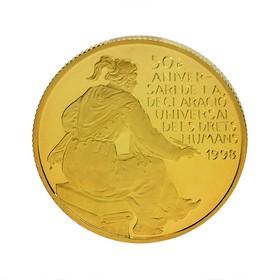 Moneda Andorra 25 Diners Oro 1998 7,79 g