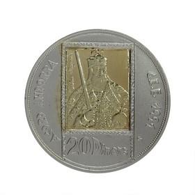 Moneda Andorra 20 Diners Oro y Plata 1991 26,42 g